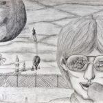 1983 Figuur met bril, Vwo4