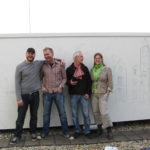 Met Richard, Kees en stagiaire Willemijn bij het Amphiaproject in 2007