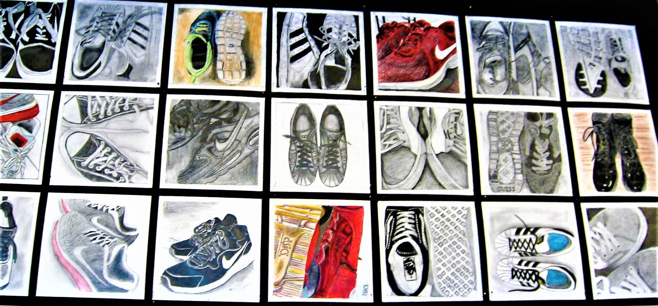 Schoenen in detail