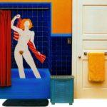 Tom Wesselmann, badkamer