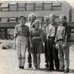 De sectie anno 1990 met Ingrid en Babice