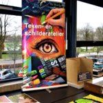 Promotie van het Teken-en schilderatelier