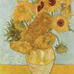 1889 Vaas met zonnebloemen