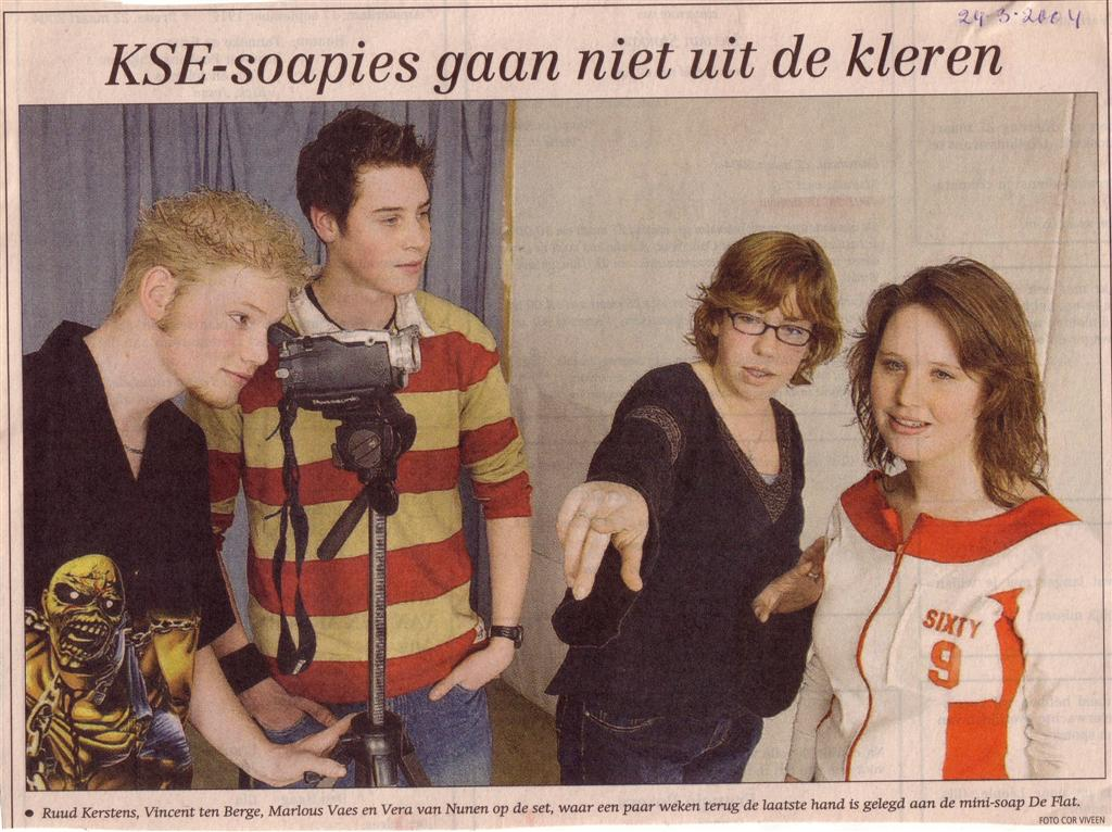 2004 Flat soap foto BN/DeStem