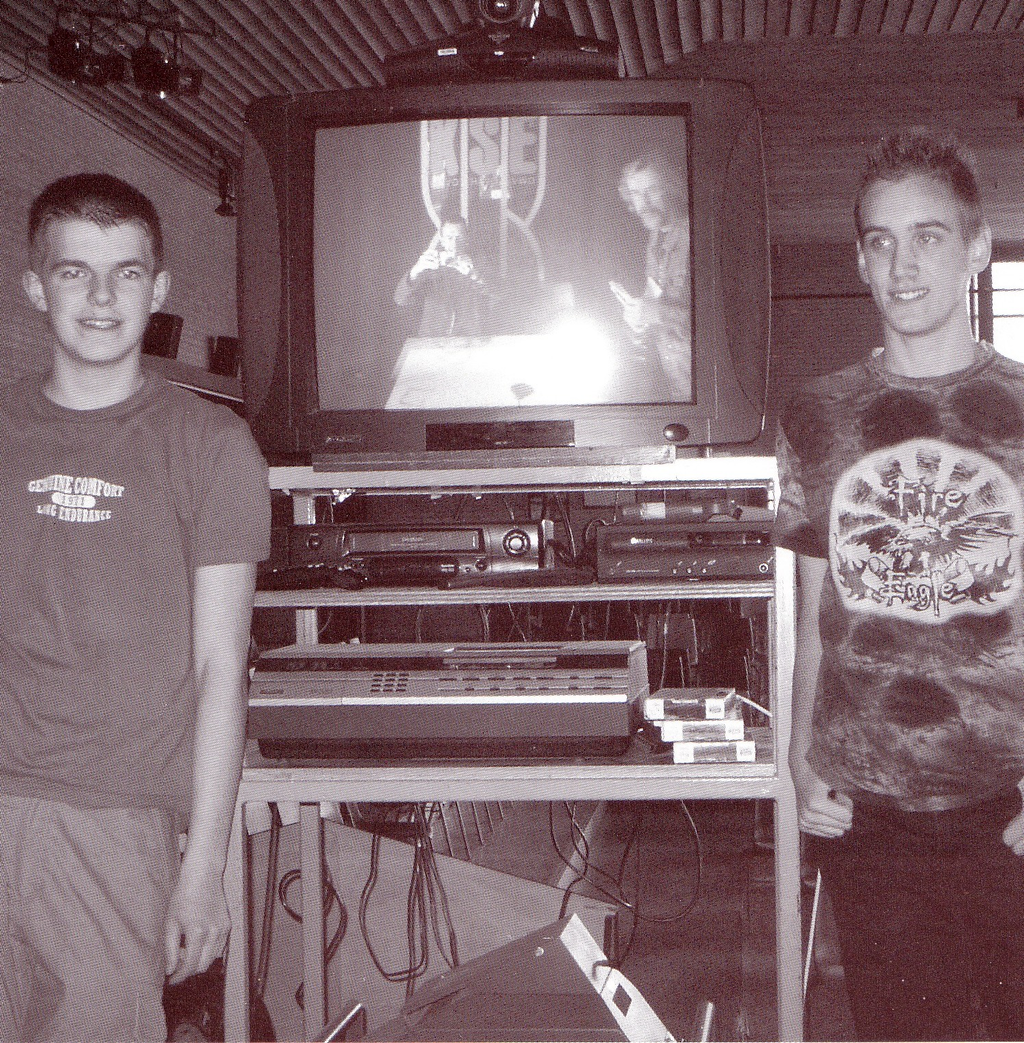 Videokar met technici Gertjan en Youri