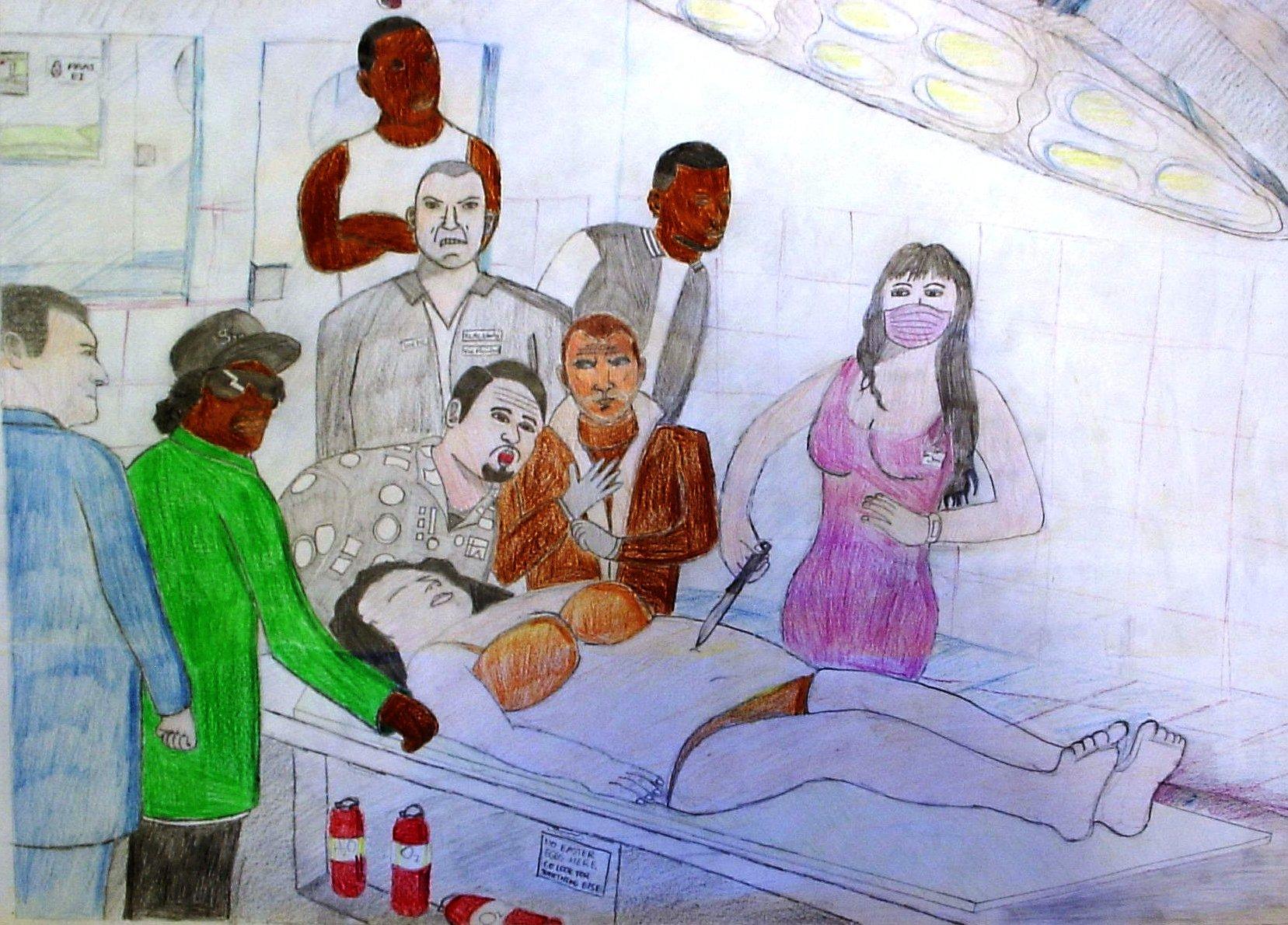 Kevin Driessen De anatomische les Anno 2011