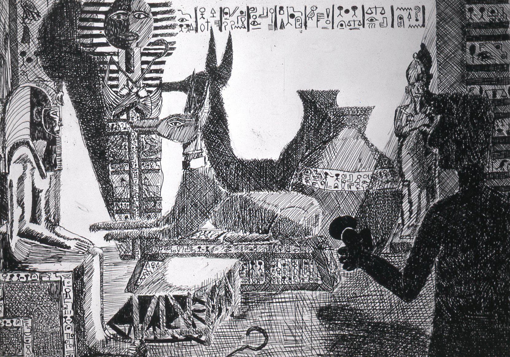 Egyptisch koningsgraf