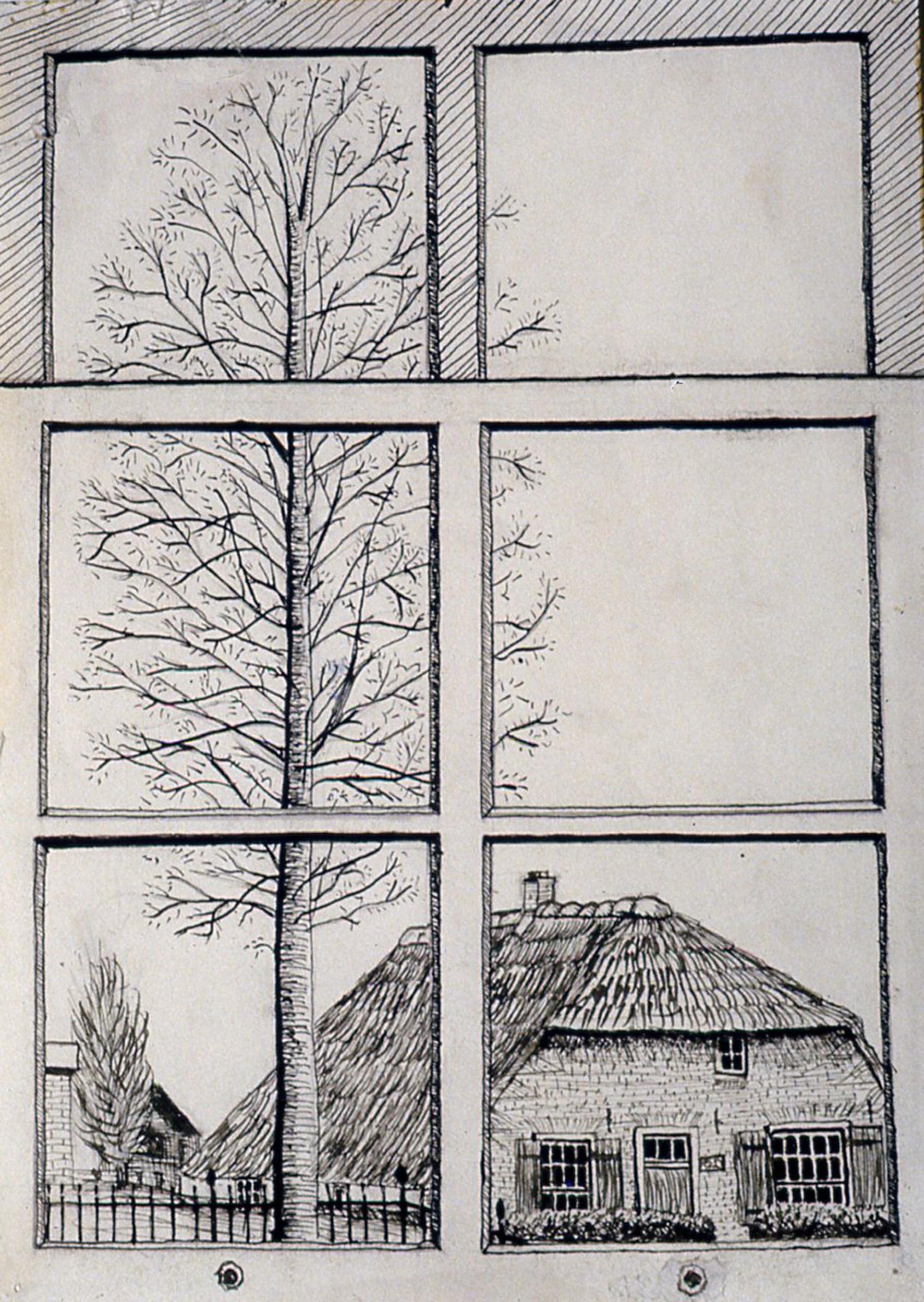 Uitzicht door mijn raam, Peter Mathias Noordzij