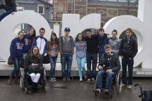 In Amsterdam op het Museumplein