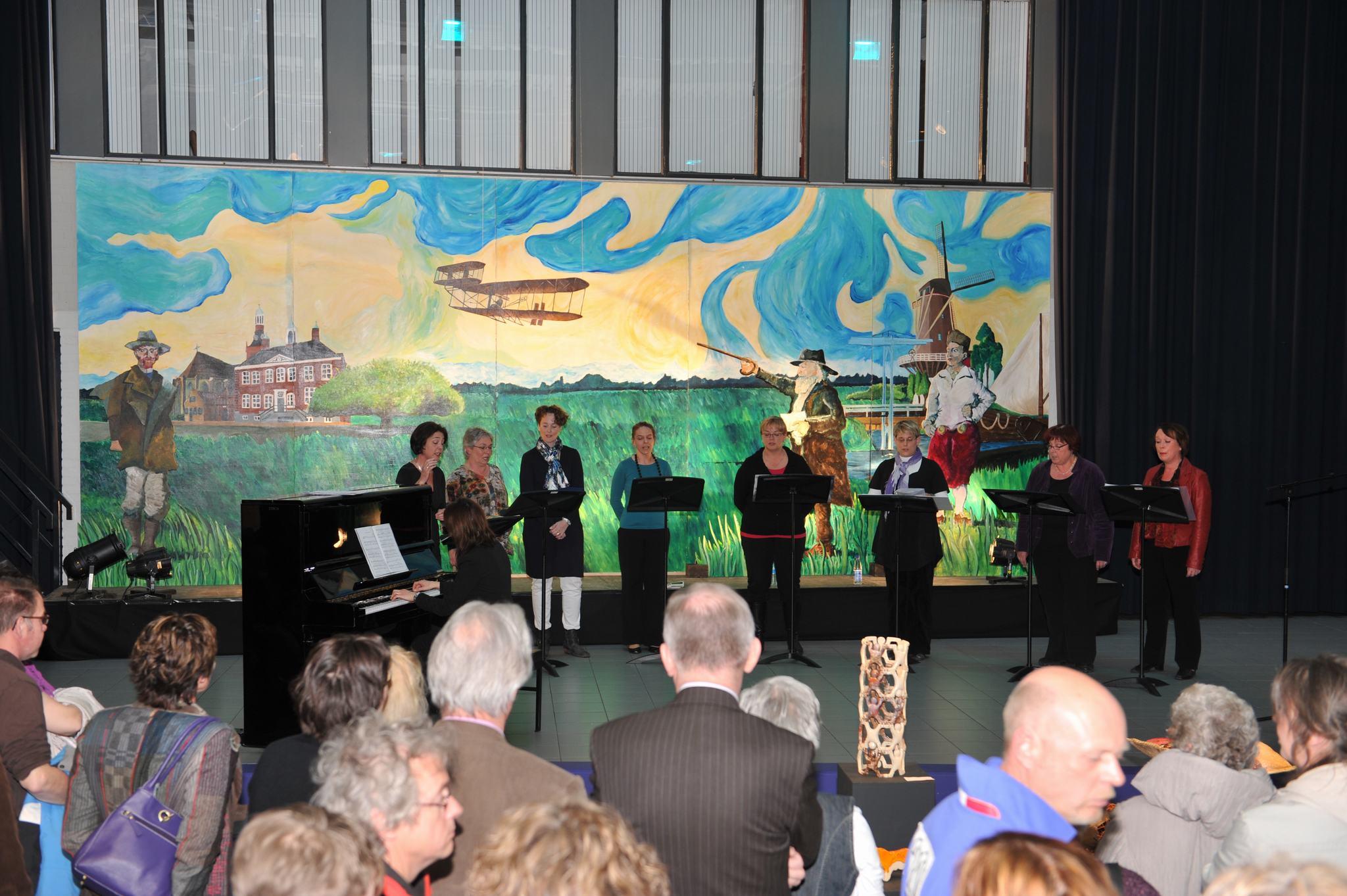 Optredens vóór het tableau