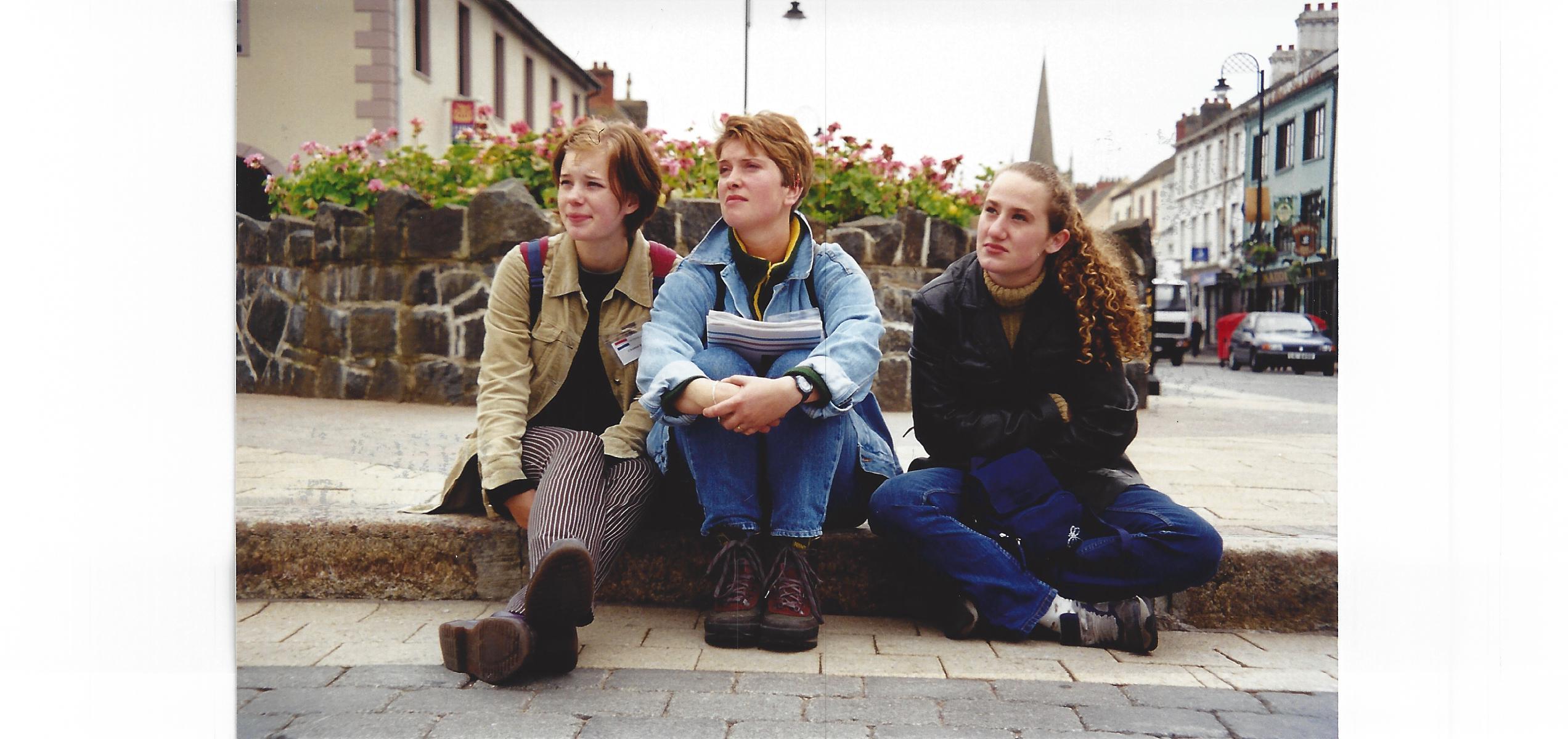 Chantal, Carmen en Helen in Ierland