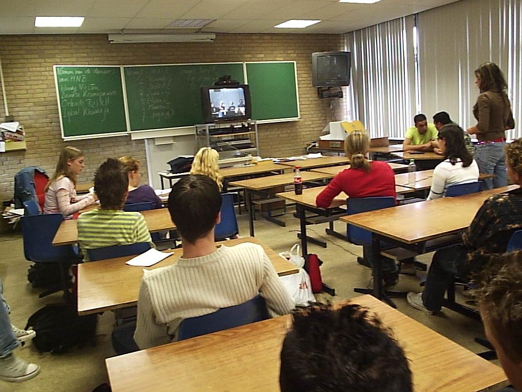 Overzicht vanuit de klas