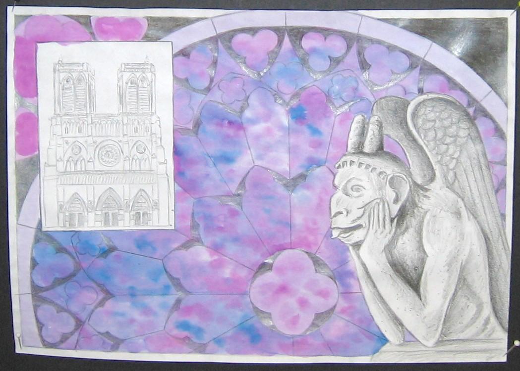 Studies voor het werkstuk n.a.v. de Notre Dame