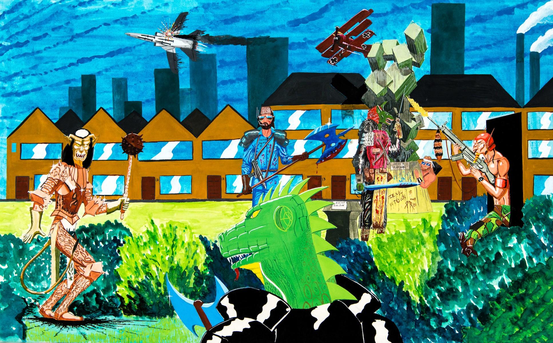 Eindwerkstuk 'De verlaten stad'