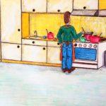 opdracht 'collectie' tekening 1 - VWO 1988-1989