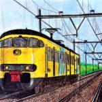 Marcel Blom - trein - VWO 1988