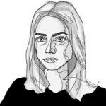 Digitaal zelfportret van Eline