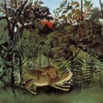 Het schilderij van Rousseau wat Romy bespreekt