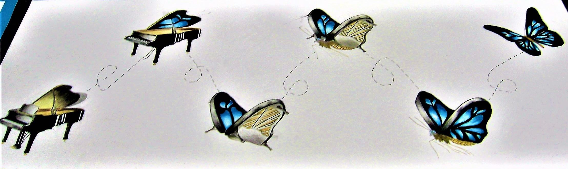 Van vleugel naar vlinder