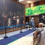 'Corona-proof' kunst beschouwen