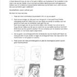 Workshopopdracht tekenen 'portrettengalerij'