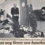 Burgemeester Houben poseert voor Erwin