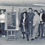 De foto met de burgemeester (links) die Erwin gebruikt heeft om hem te vereeuwigen