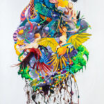 Destruction of the father, 2018, Acrylic on canvas, 140x 200 cm