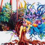 Leviathan, 2015 – 2018, Acrylic on canvas, 180 x 300 cm