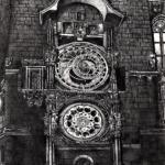 7. Pražský orloj (astronomical clock) Prague (sketch 29-08-2020 visit 11-08-2019) A4 HB