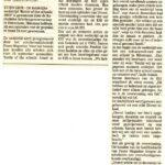 Bericht uit De Stem 1-11-2003
