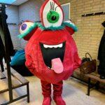 Monster backstage