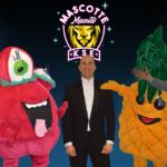 Mascotte Mania jury en presentator