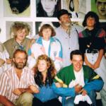 In 1990 op atelierbezoek bij Marlene