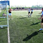 Goal bij het damesvoetbal