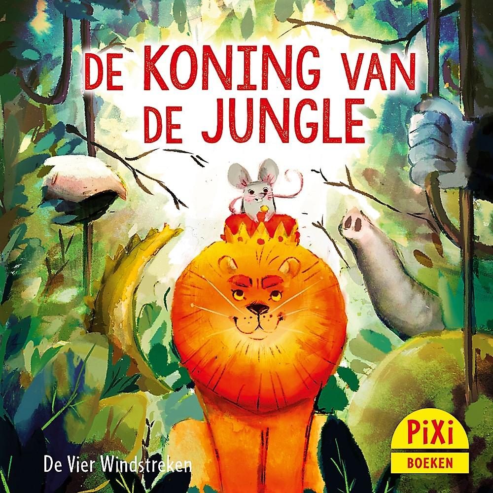 Voorkant 'Koning van de jungle'