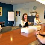 De drie meiden die Stephans uitdaging hebben aangenomen