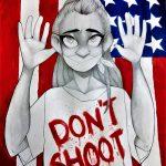 HANDS UP, DON'T SHOOT Ferguson eindwerkstuk