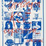 1985 Zeefdruk voor eindexamenexpo