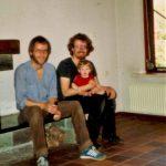 1982 Kees helpt een handje in ons nieuwe huis